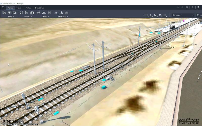 طراحی مفهومی دز infraworks