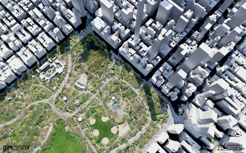 نقشه های ماهواره ای نرم افزار لومیون Lumion