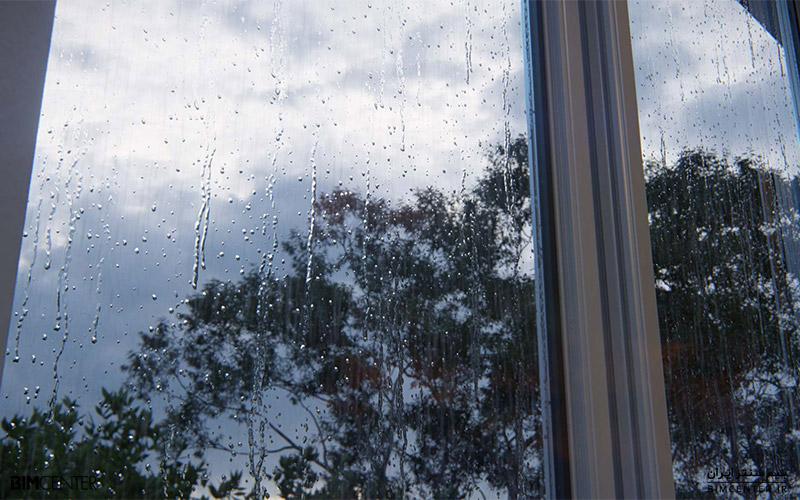 تصاویر بارانی در نرم افزار لومیون Lumion