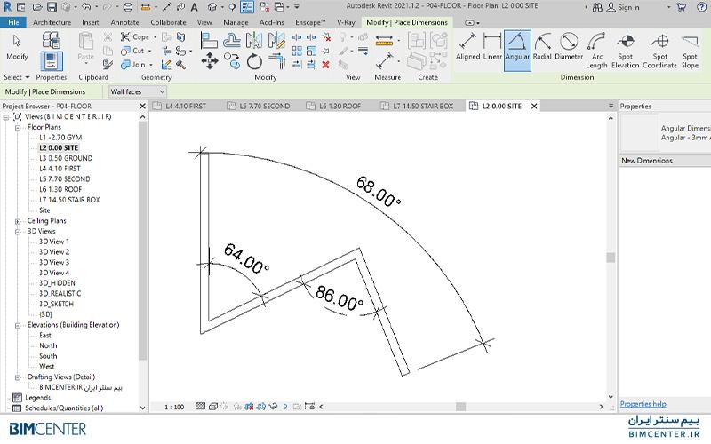 اندازه گذاری با Angular در رویت