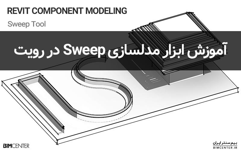 آموزش ابزار سوییپ Sweep در مدلسازی کامپوننت رویت
